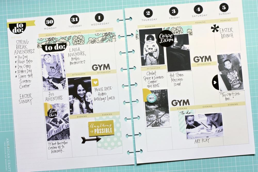 Create 365™ Happy Planner™ spread by mambi Design Team member ...