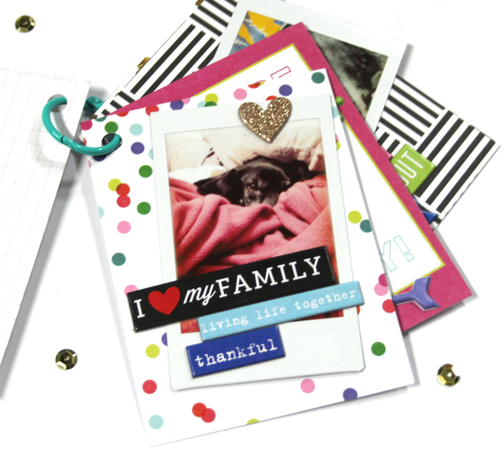 using POCKET PAGES™ cards in various projects like cards, planner pages, and mini books by mambi Design Team member Candi Billman | me & my BIG ideas