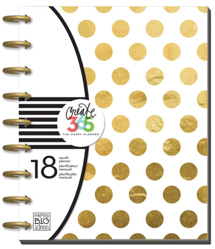Gold Foil Dots Create 365™ The Happy Planner™ | me & my BIG ideas