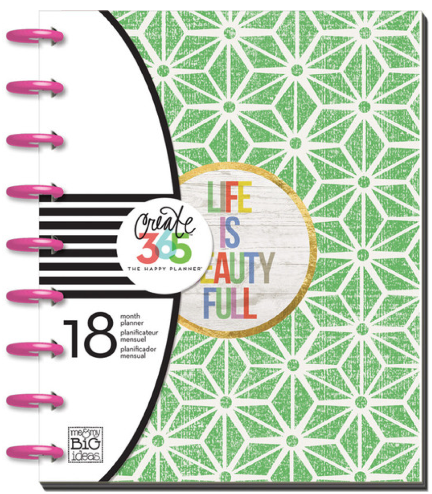 'Life is Beauty Full' Create 365™ The Happy Planner™ | me & my BIG ideas