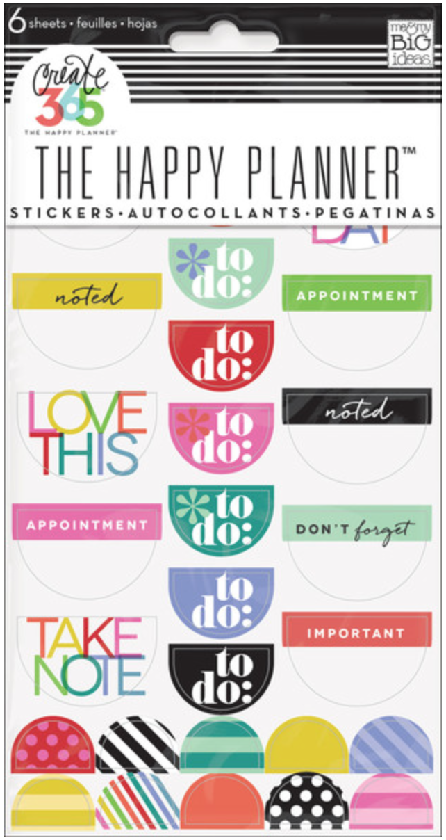 'Bright' To Do Stickers Create 365™ The Happy Planner™ | me & my BIG ideas