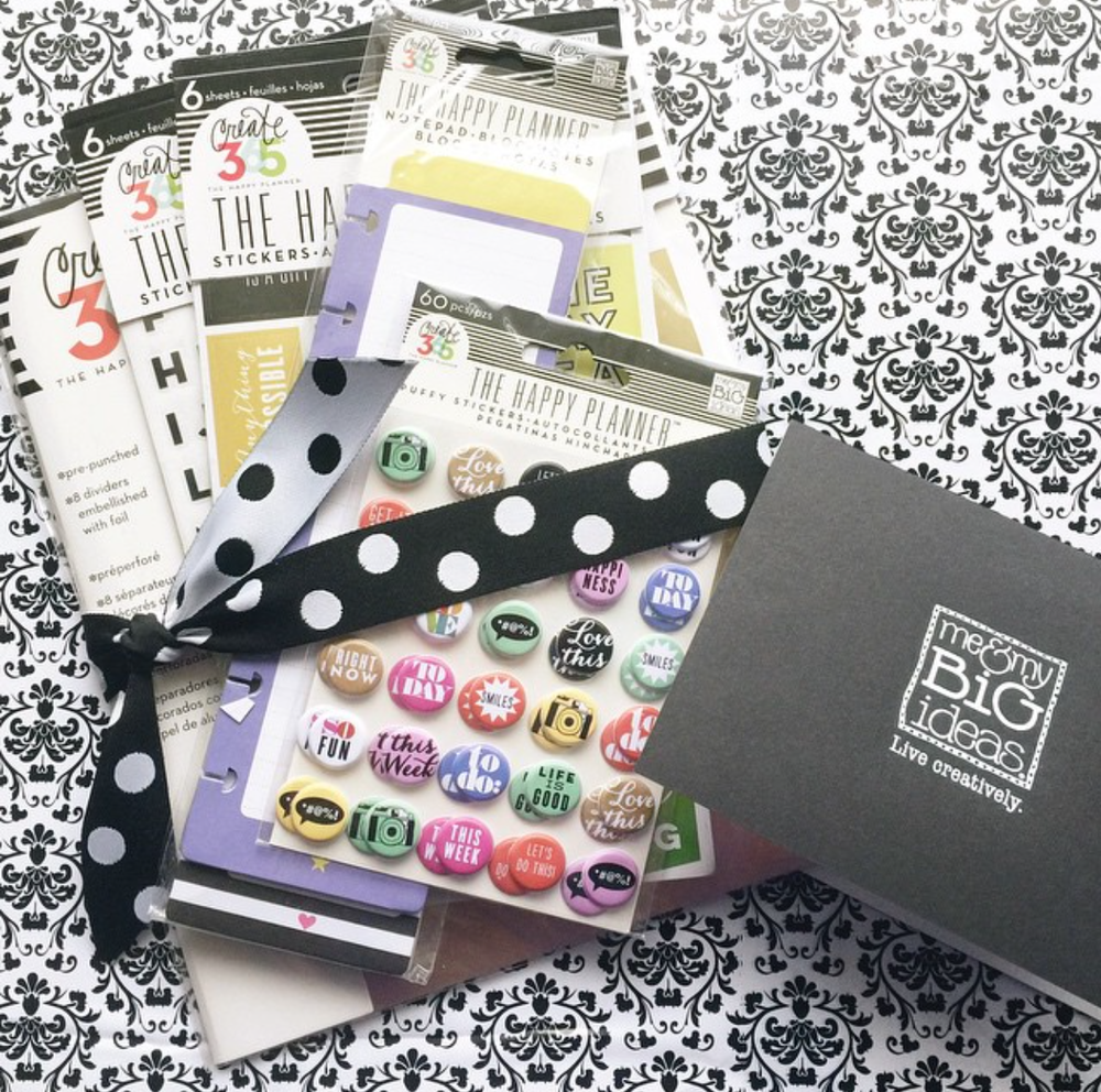 #myHappyPlannerisHERE to hashtag once your Create 365™ The Happy Planner™ arrives!  | me & my BIG ideas