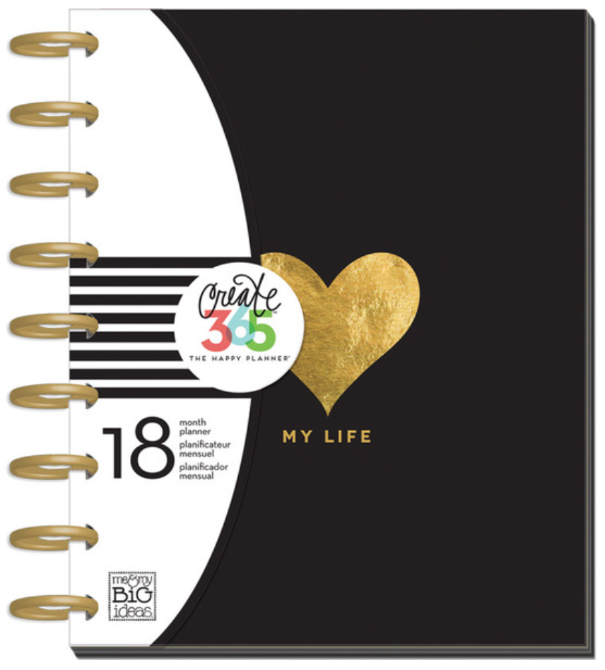 2015-16 My Life Create 365™ Happy Planner | me & my BIG ideas