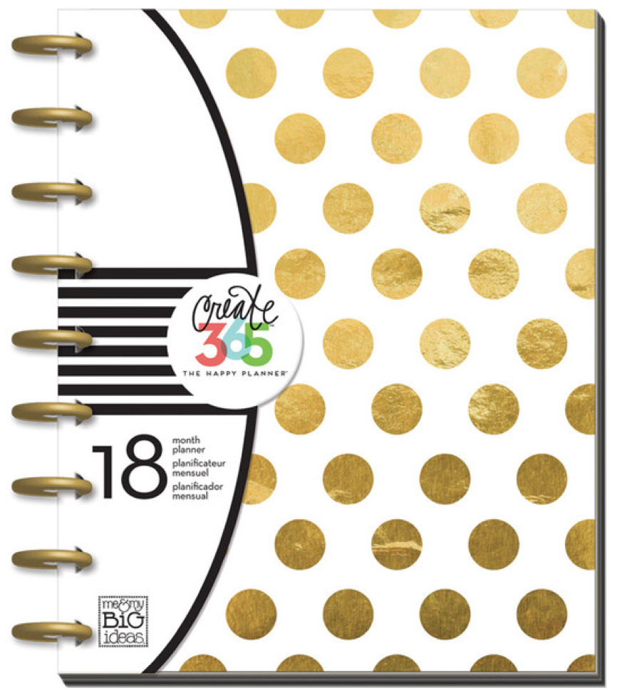 'Gold Foil Dots' Create 365™ The Happy Planner™ | me & my BIG ideas