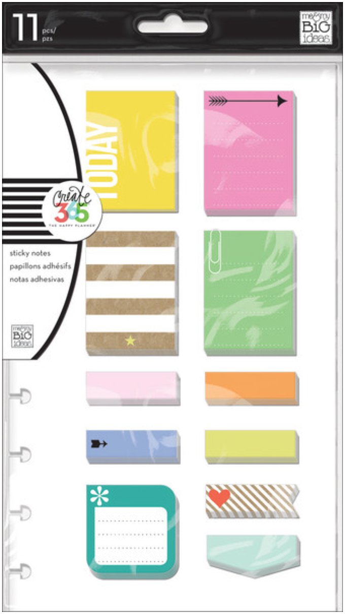 'Happy Sticky Notes' for Create 365™ The Happy Planner™ | me & my BIG ideas