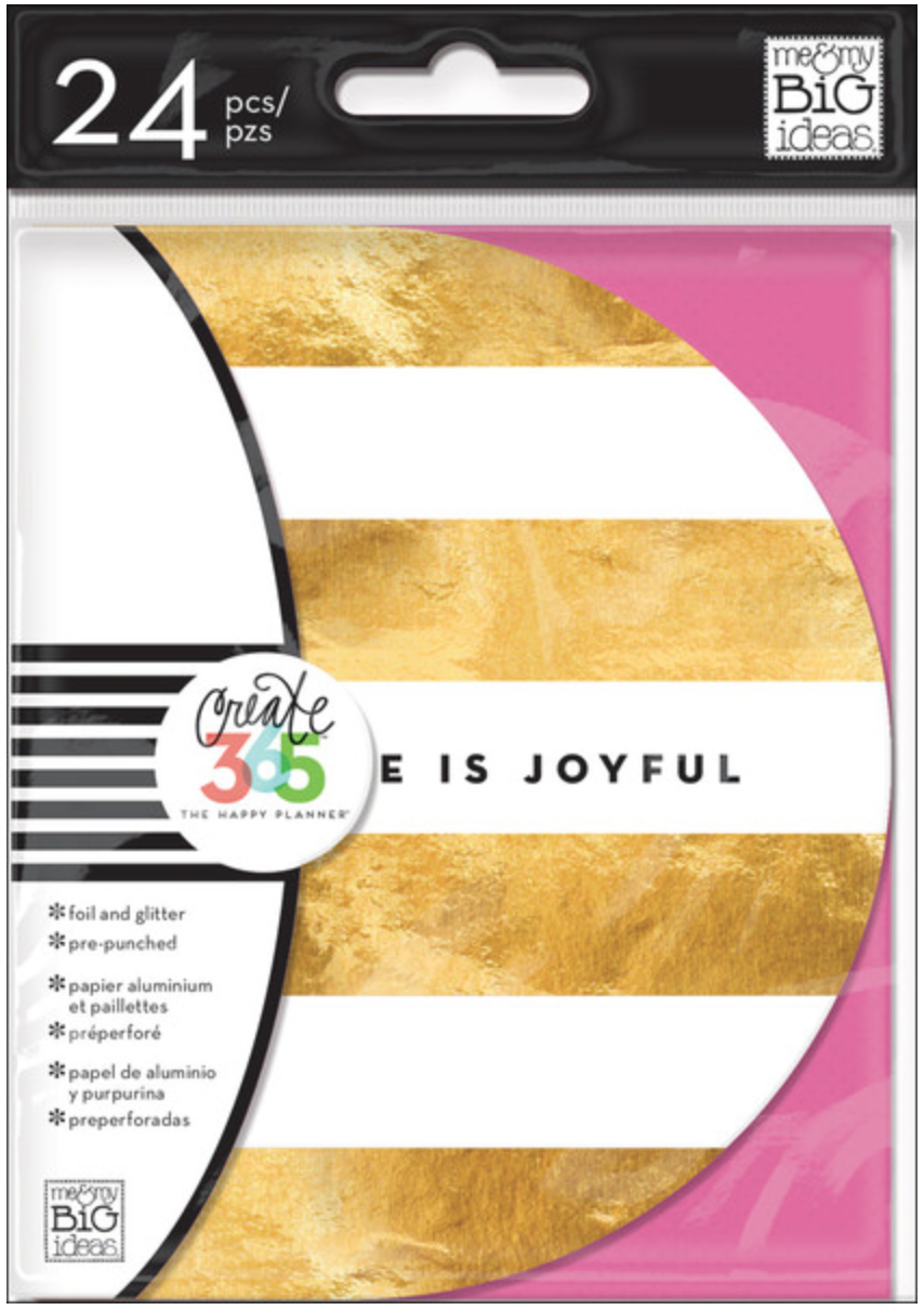 'Inspiration Cards' for Create 365™ The Happy Planner™ | me & my BIG ideas
