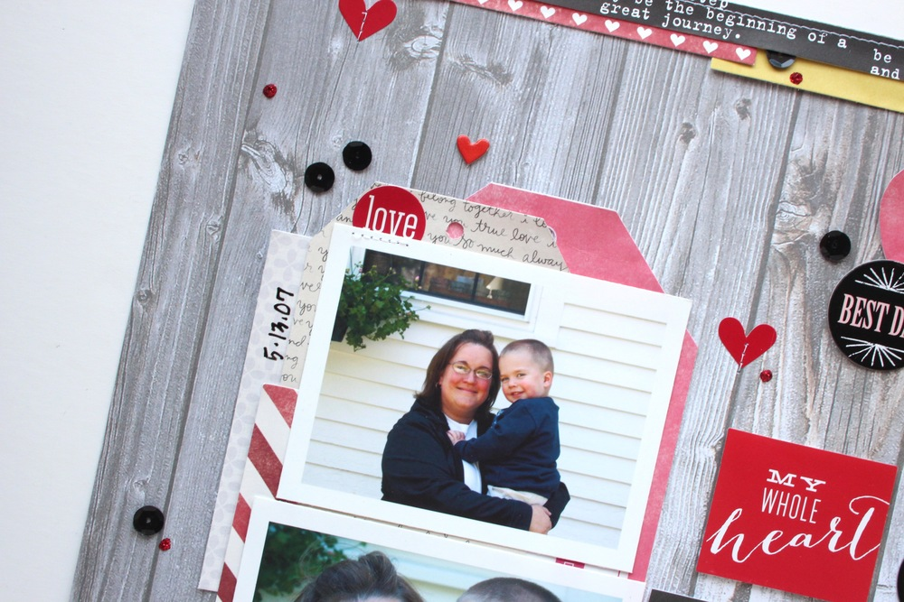 'Mother's Day' scrapbook page by mambi Design Team member Mary-Ann Maldonado | me & my BIG ideas