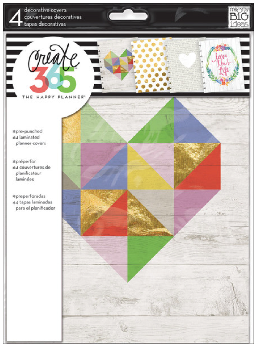 Decorative Planner Covers Extension Pack for Create 365™ The Happy Planner™ | me & my BIG ideas