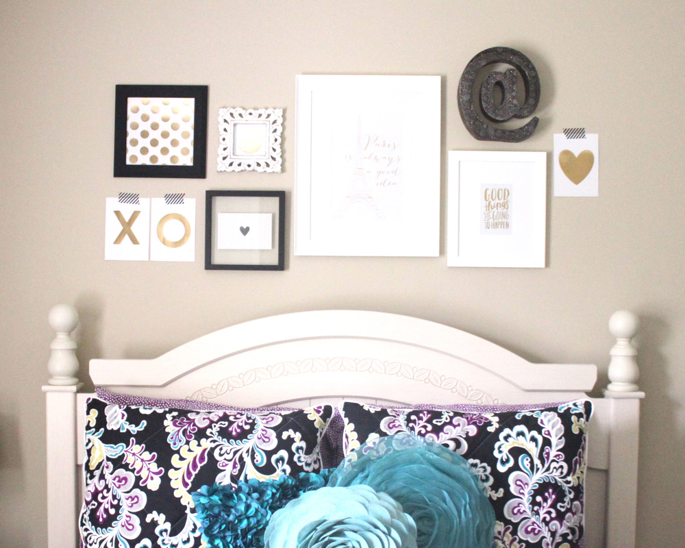 Wall Decor For Over Bed : Home decor an over the bed gallery wall me my big ideas