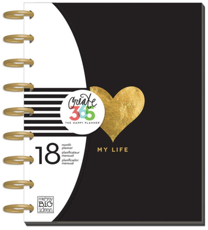 'My Life' 2015-16 Create 365™ The Happy Planner™ | me & my BIG ideas