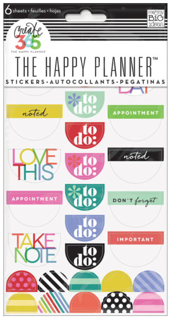 'Bright' To Do Create 365™ The Happy Planner™ stickers | me & my BIG ideas