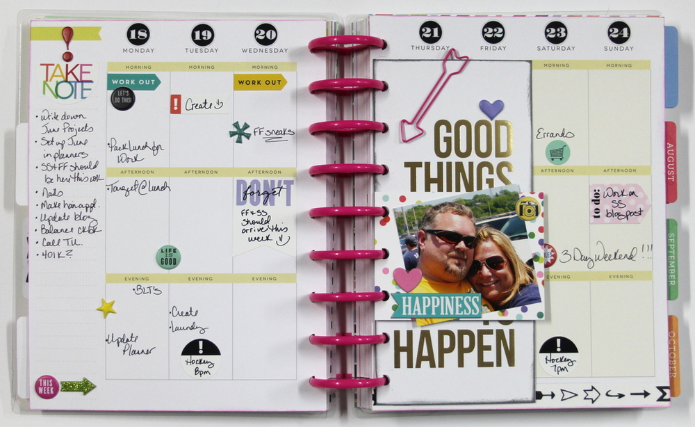create 365 the happy planner good things are going to