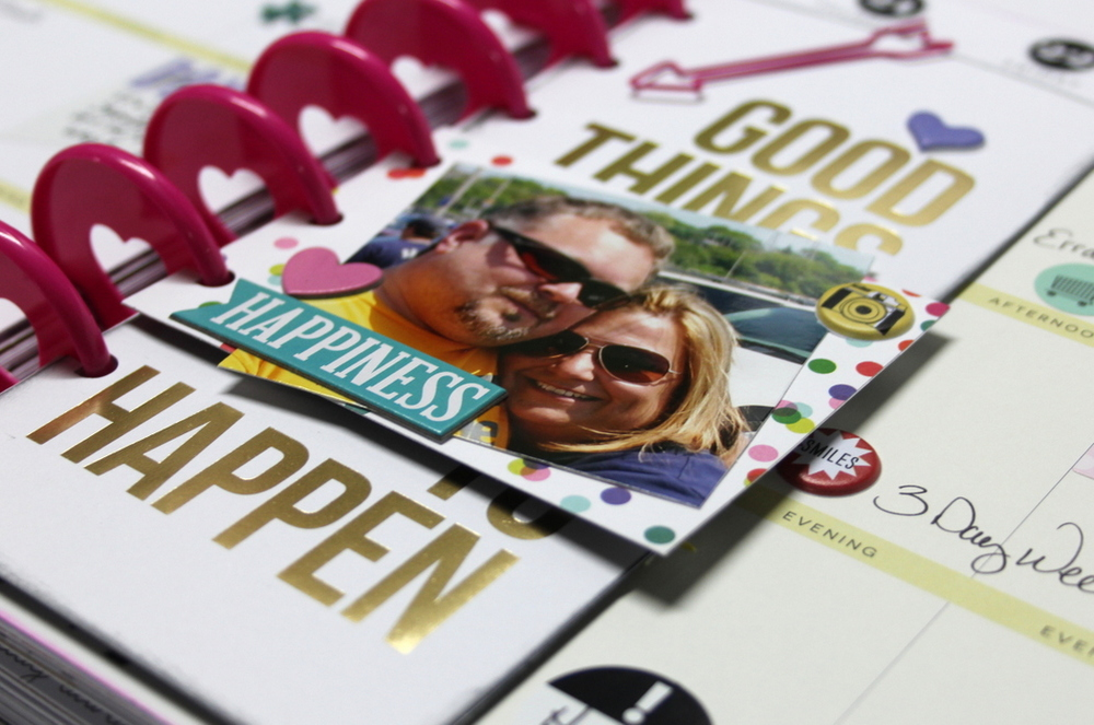 Good Things Are Going to Happen week in mambi Design Team member Candi Billman's Create 365™ Happy Planner™ | me & my Big ideas