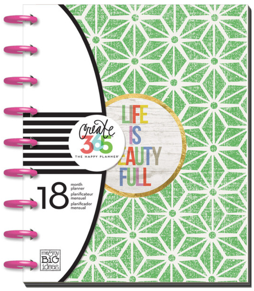 'Life is Beauty Full' 2015-16 Create 365™ The Happy Planner | me & my BIG ideas