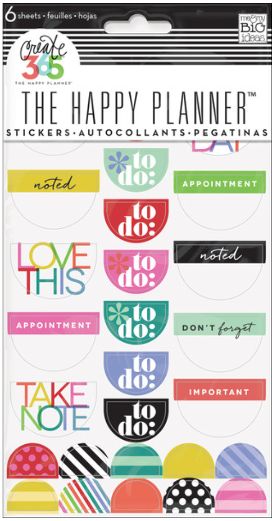 'Bright' To Do stickers for Create 365™ The Happy Planner™ | me & my BIG ideas
