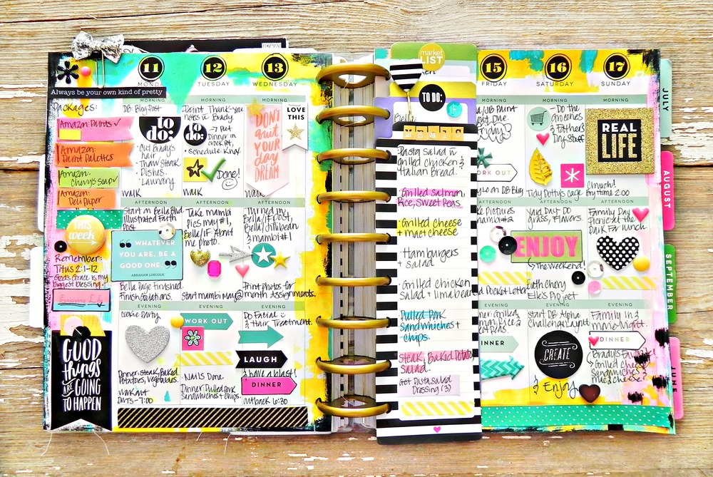 create 365 the happy planner painty may week me my