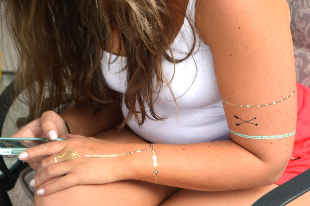 mambi Fancy Tats™ Metallic Tattoos station at your next BBQ! | me & my BIG ideas