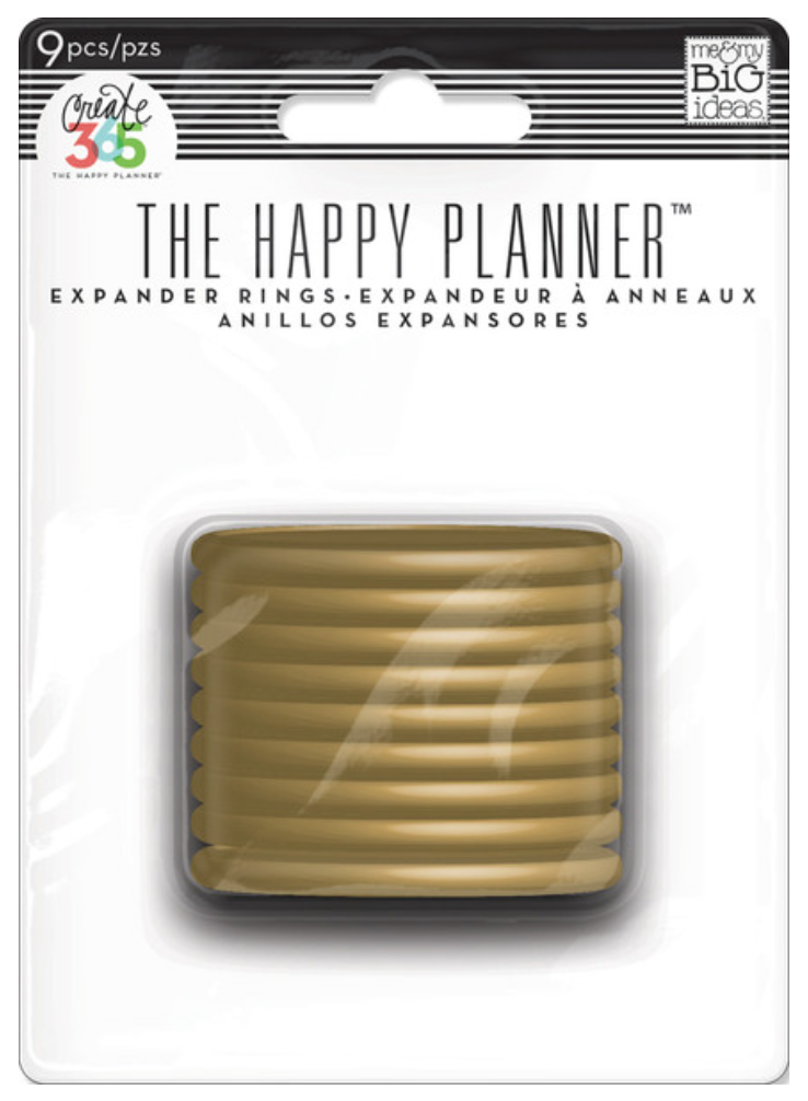 Create 365™ The Happy Planner GOLD Expander Rings