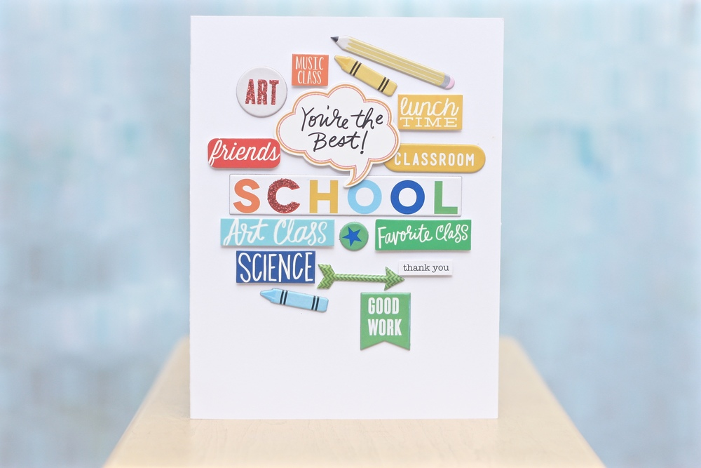 Letter Cards For Elementary School Teacher