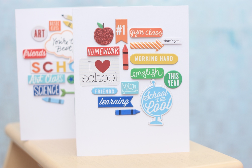 end of the year teacher 'Thank You' cards by mambi Design Team member April Orr | me & my BIG ideas
