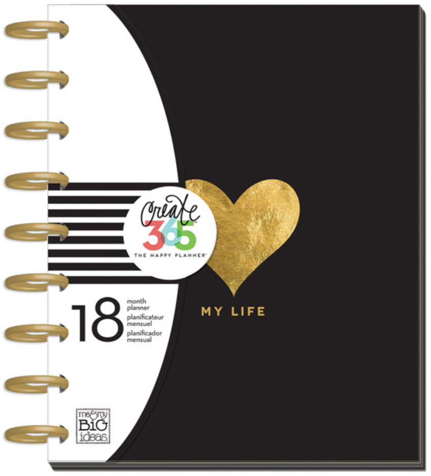 2015-2016 'My Life' Create 365™ The Happy Planner™ | me & my BIG ideas
