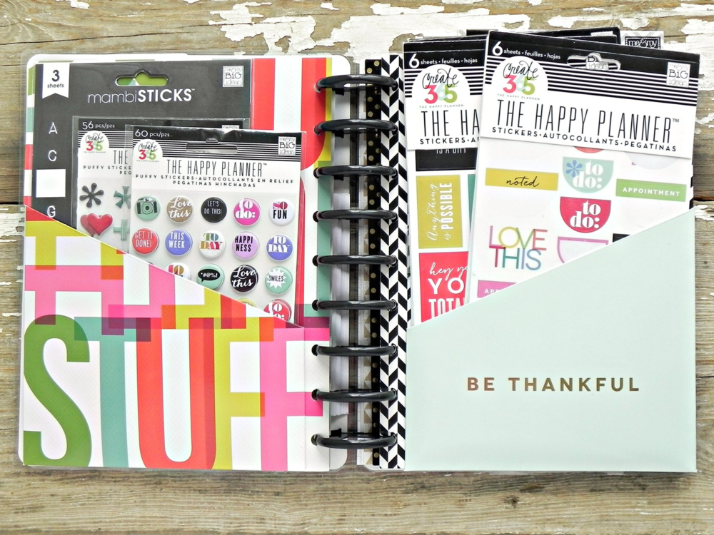 planner book for Happy Planner™ supplies
