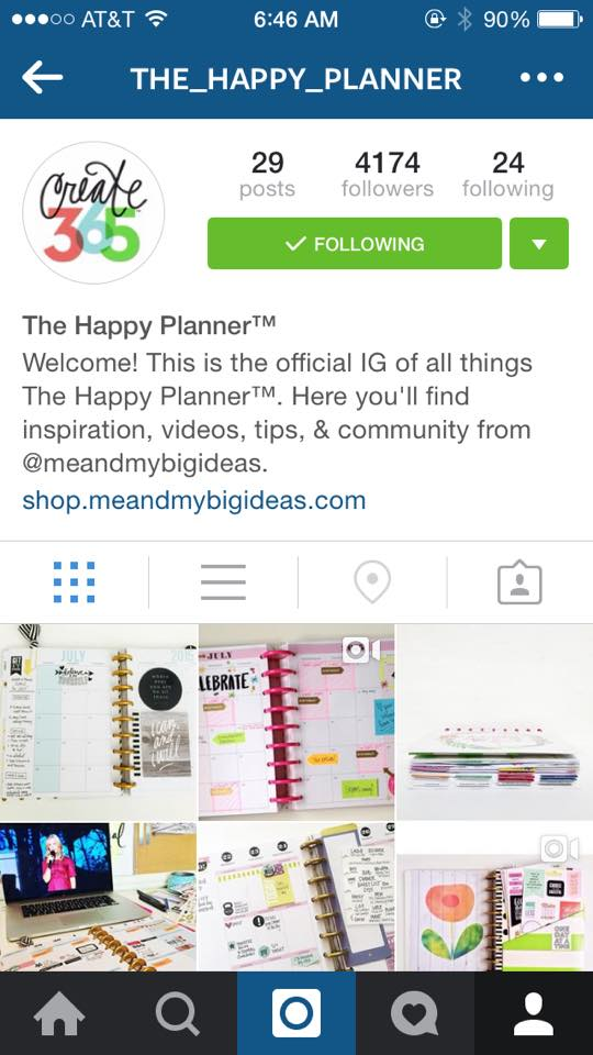 official Instagram page for The Happy Planner™ @the_happy_planner | me & my BIG ideas