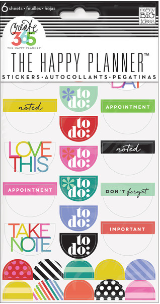 To Do Stickers - Bright | me & my BIG ideas