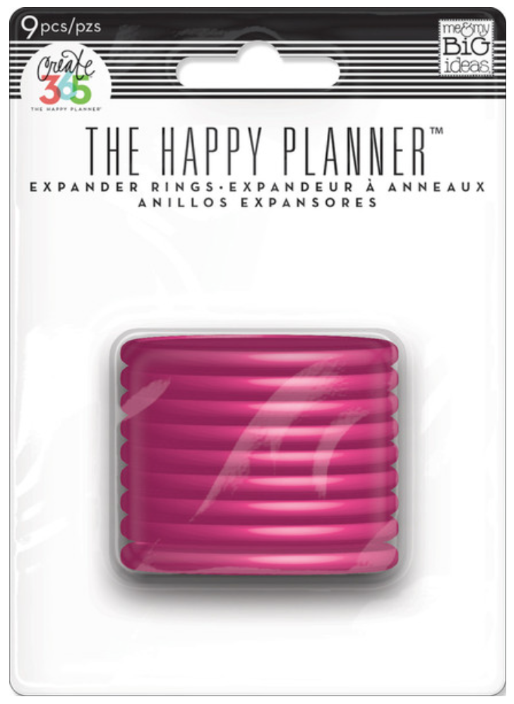Pink Expander Rings for Create 365™ The Happy Planner™ | me & my BIG ideashttp://shop.meandmybigideas.com/collections/create-365/products/pink-rings