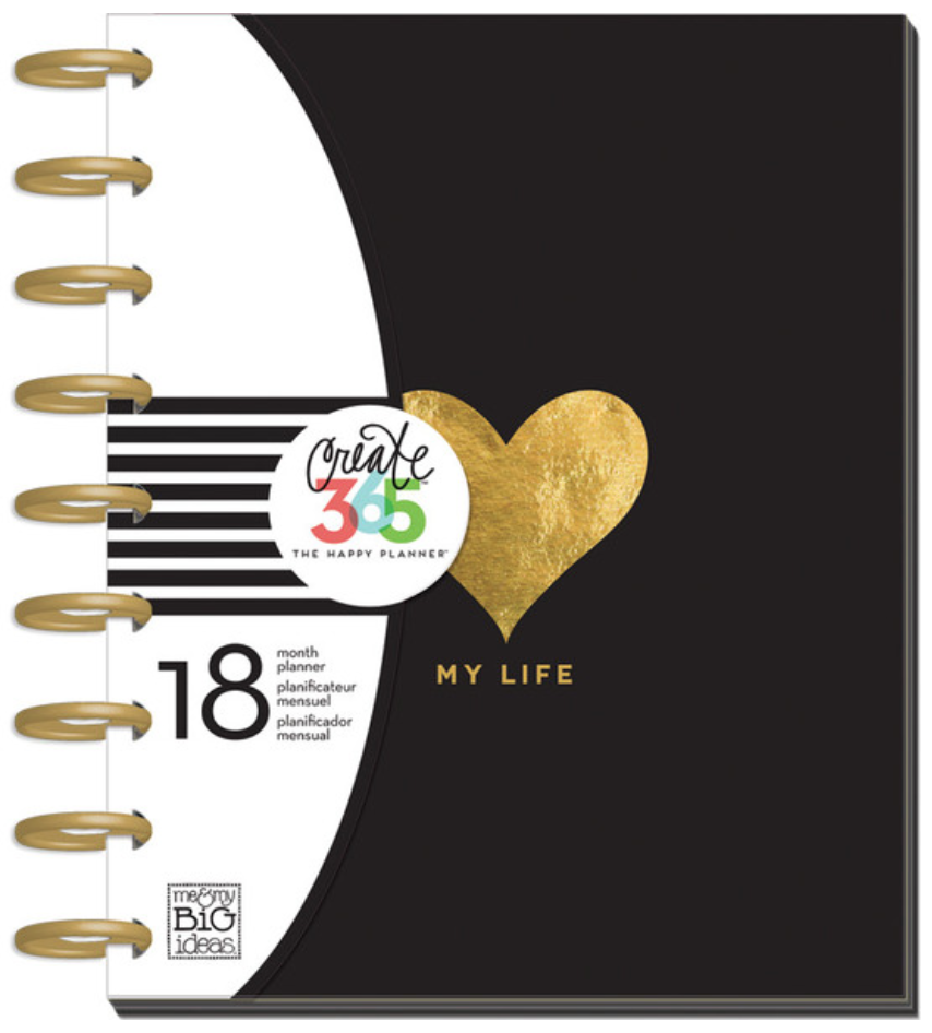 'My Life' 2015-2016 Create 365™ The Happy Planner™ | me & my BIG ideas