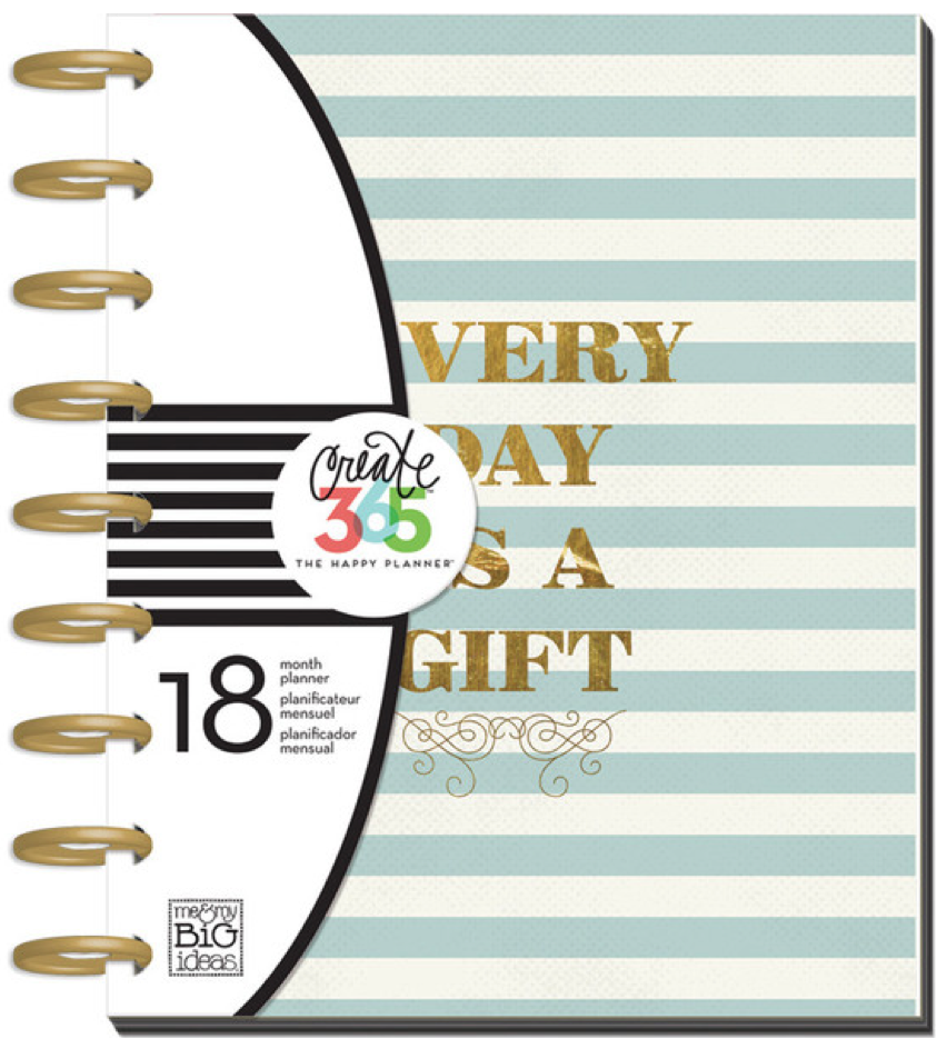2015-2016 'Every Day is a Gift' Create 365™ The Happy Planner™ | me & my BIG ideas