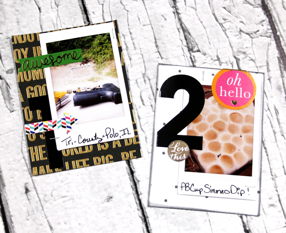 Top 10 Summer Memories POCKET PAGES™ page by mambi Design Team member Candi Billman | me & my BIG ideas