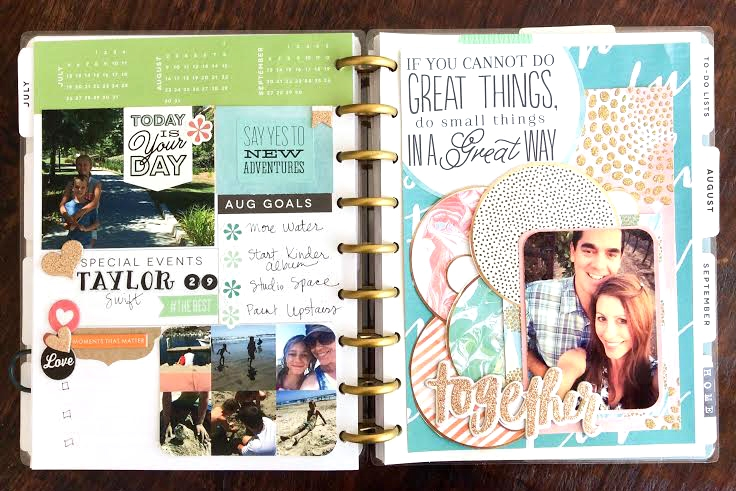a few pages of August prep