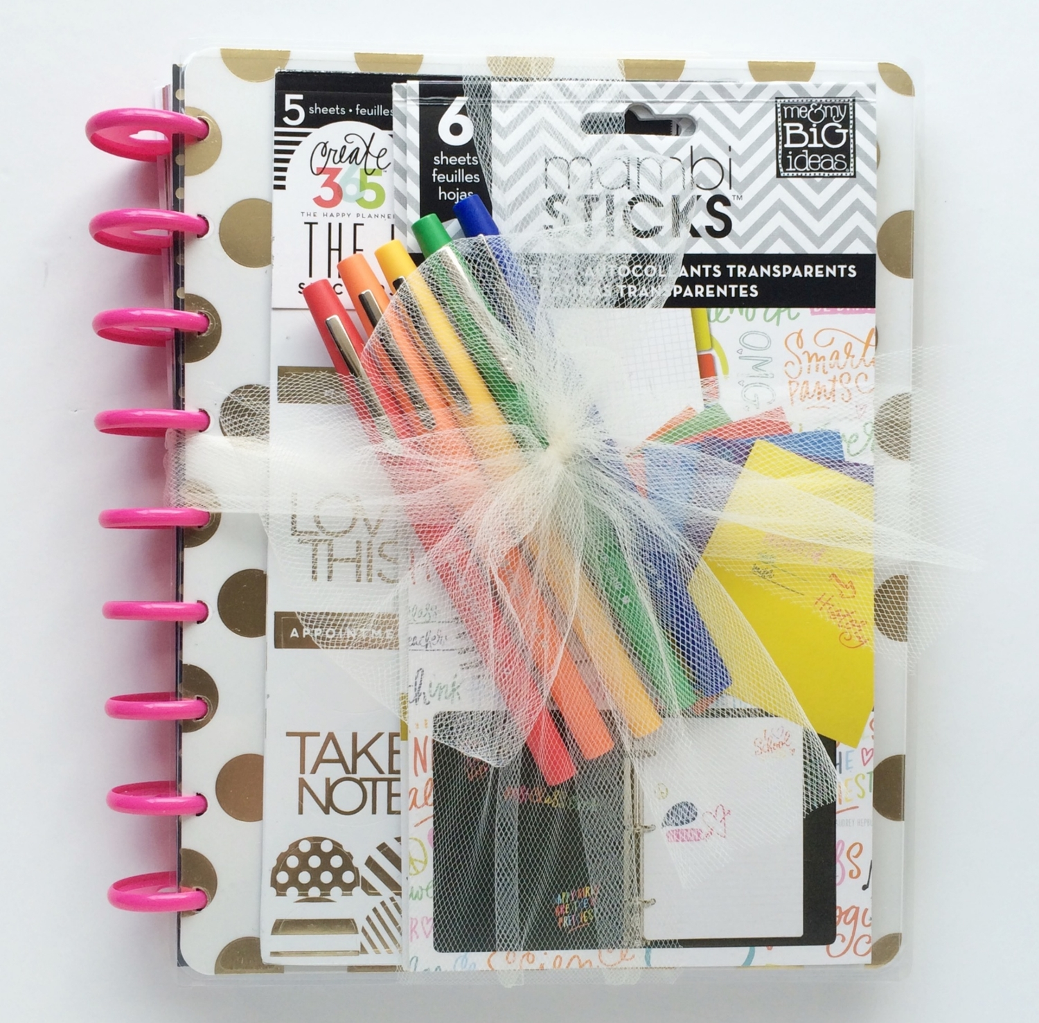 happy planner gift for new teacher me my big ideas