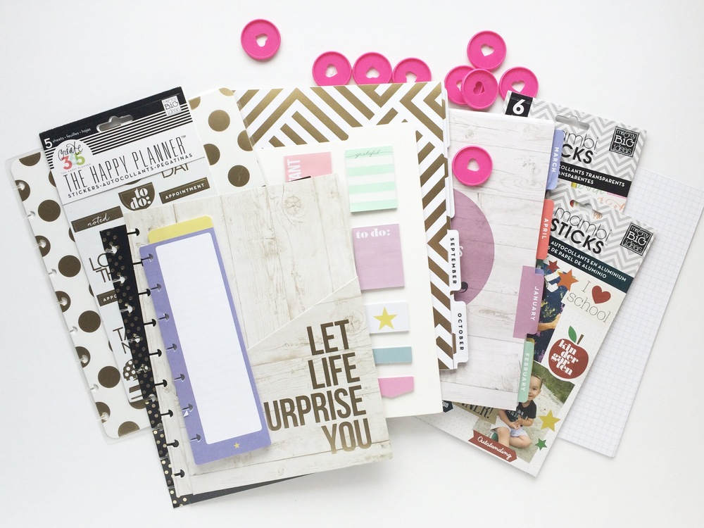 a Happy Planner™ gift for teacher created by mambi Design Team member Mary-Ann Maldonado | me & my BIG ideas