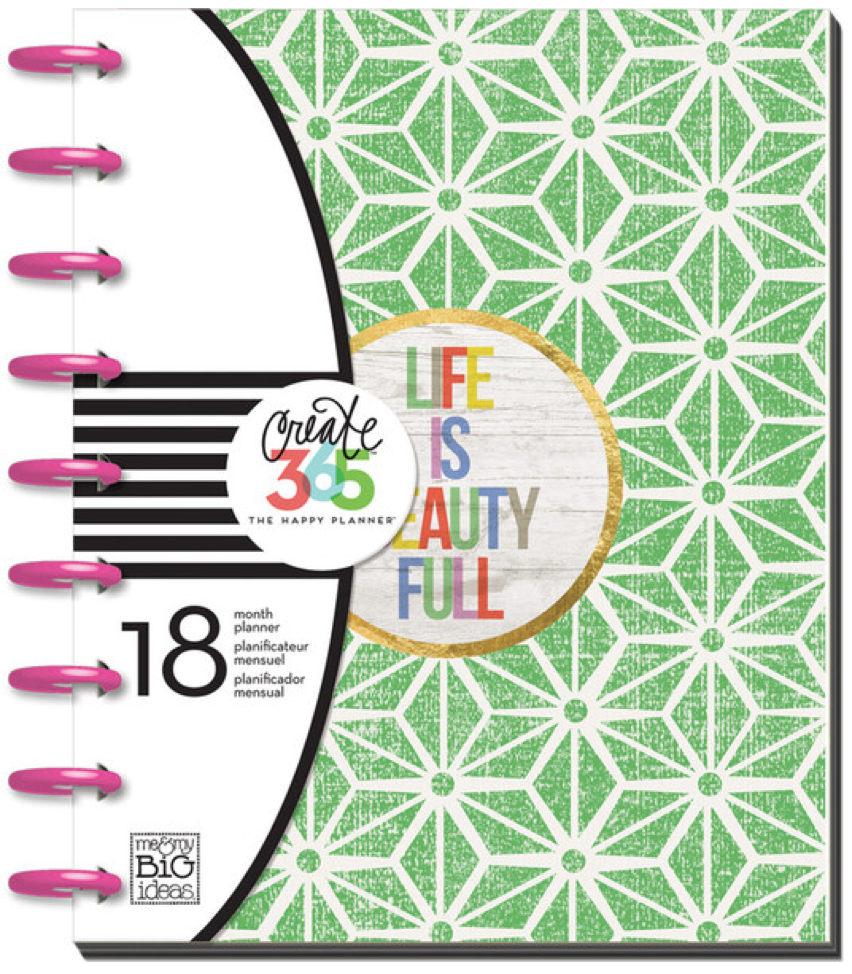 2015-2016 'Life is Beauty Full' Create 365™ Happy Planner™ | me & my BIG ideas