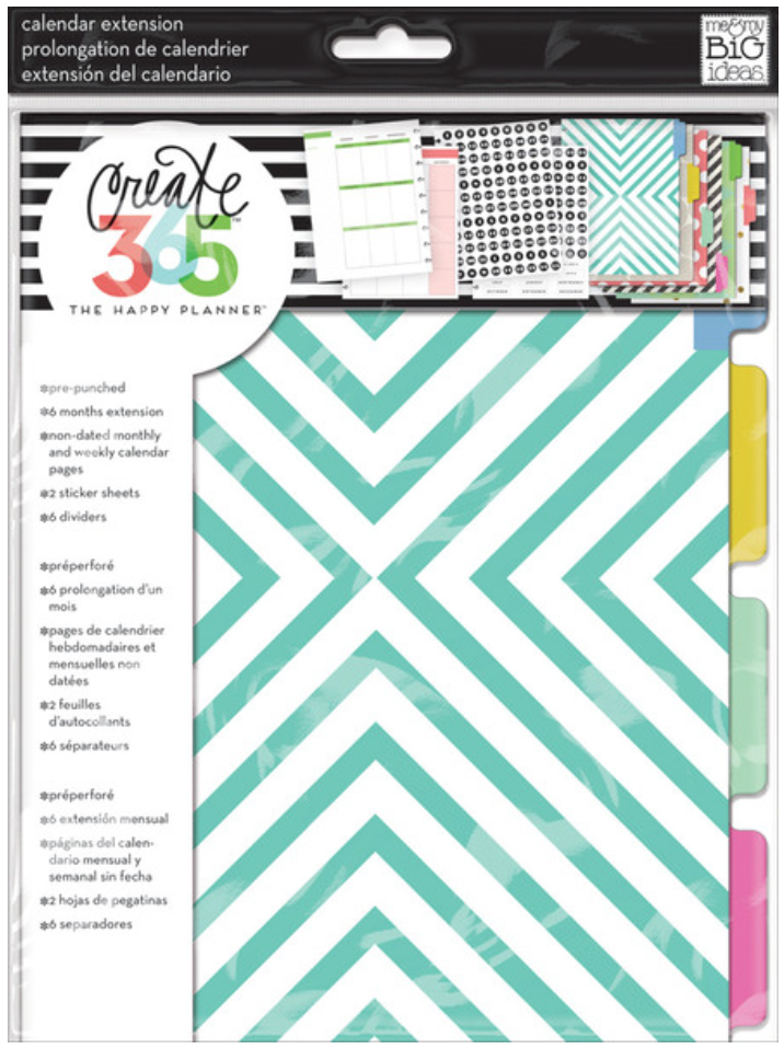 Six-Month Extensions Pack for Create 365™ The Happy Planner™ | me & my BIG ideas