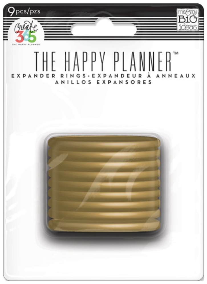 Gold Expander Rings for Create 365™ The Happy Planner™ | me & my BIG ideas