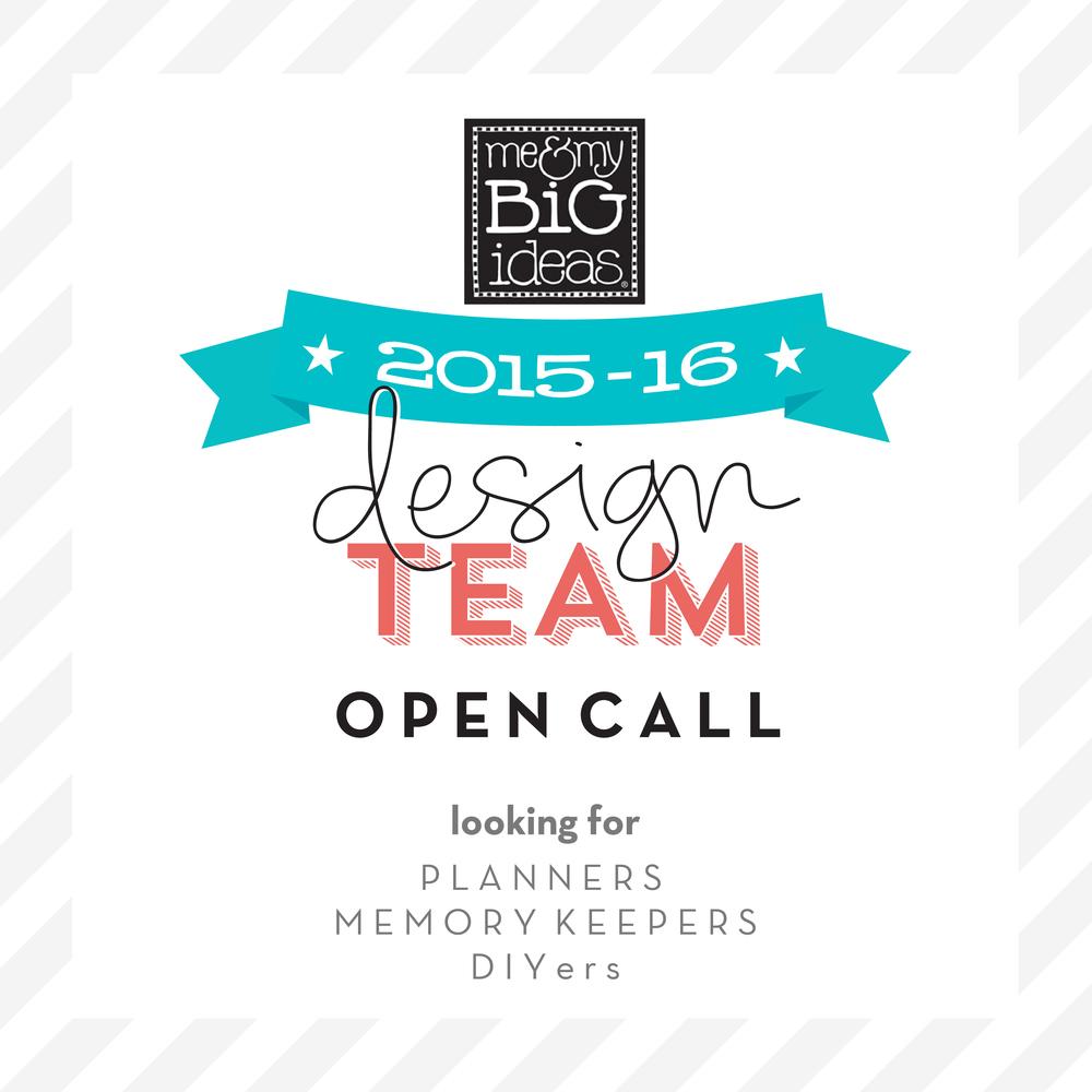 2015-2016 mambi Design Team OPEN CALL button