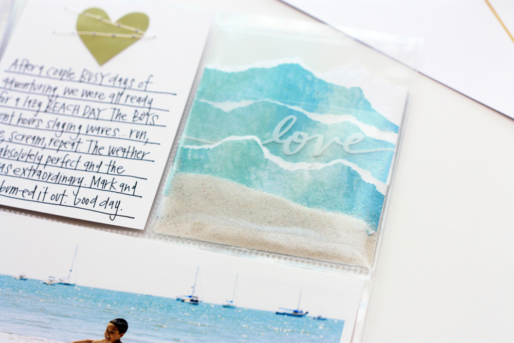'Bliss' POCKET PAGES™ by mambi Deisgn Team member April Orr | me & my BIG ideas