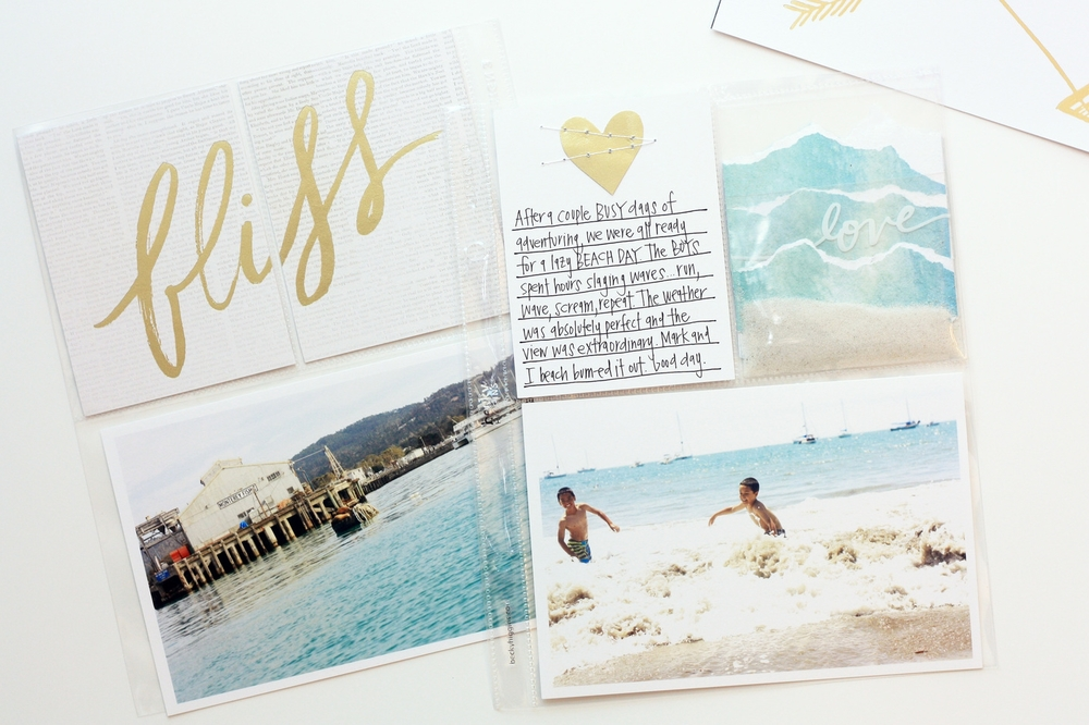 'summer bliss' POCKET PAGES™