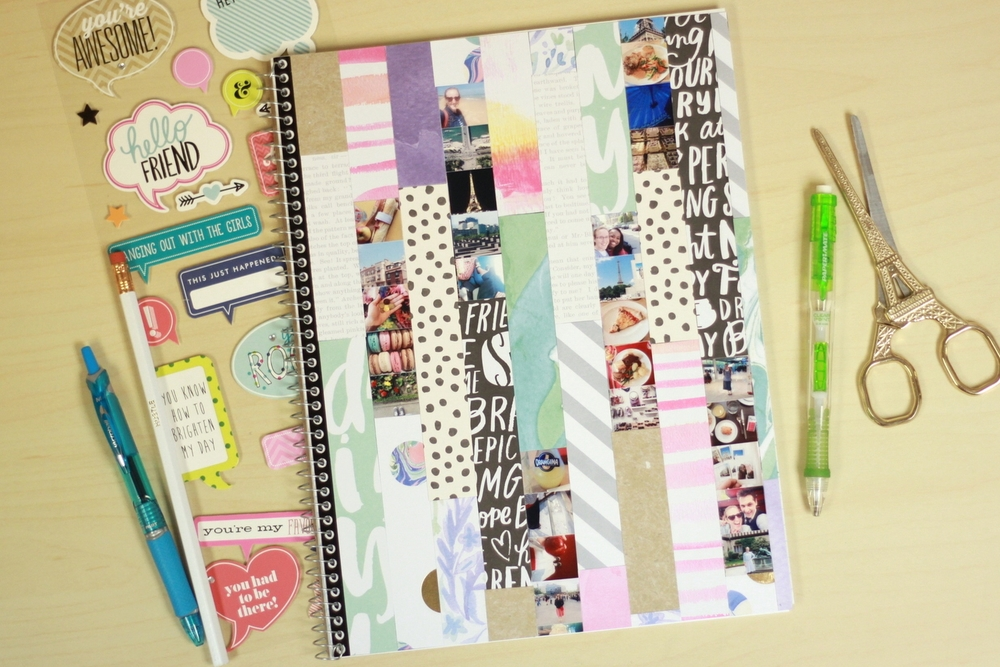 mambiSHEETS notebook collage