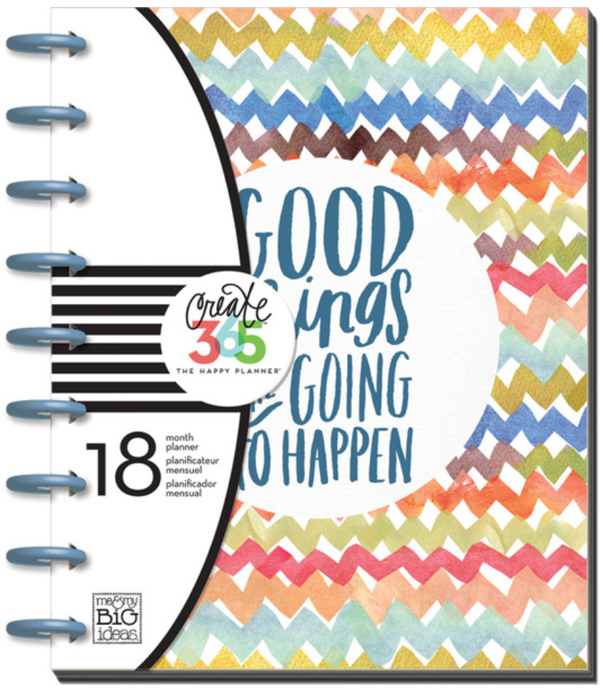 2015-2016 'Good Things Are Going To Happen' Happy Planner™ | me & my BIG ideas