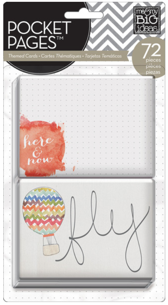 'Here & Now' POCKET PAGES™ cards | me & my BIG ideas