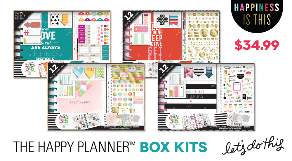 The Happy Planner™ BOX KITS | me & my BIG ideas