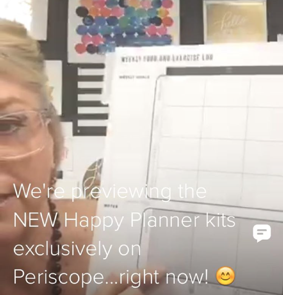 @meandmybigideas on Periscope & mambi owner Stephanie Fleming chatting live! | me & my BIG ideas