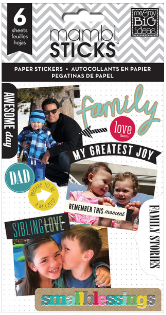 'Family Love' mambiSTICKS stickers | me & my BIG ideas