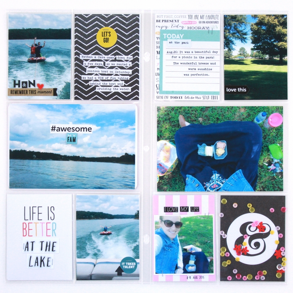 'Life is Better at the Lake' POCKET PAGES™