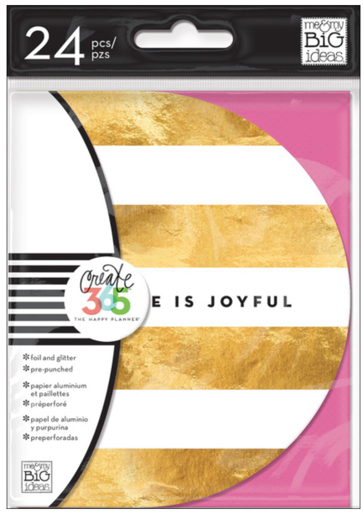 pre-punched Inspiration Cards for Create 365™ The Happy Planner™ | me & my BIG ideas