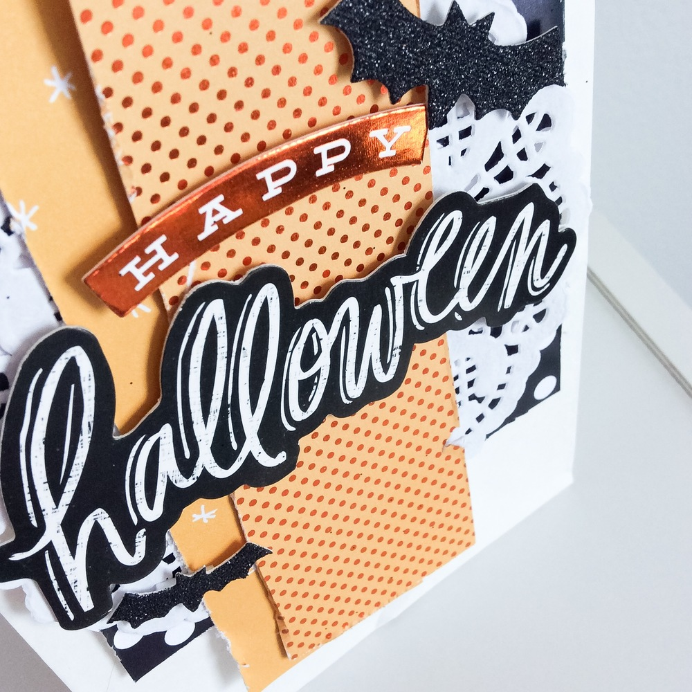 Halloween goodie bags of candy made by mambi Design Team member Jen Randall | me & my BIG ideas